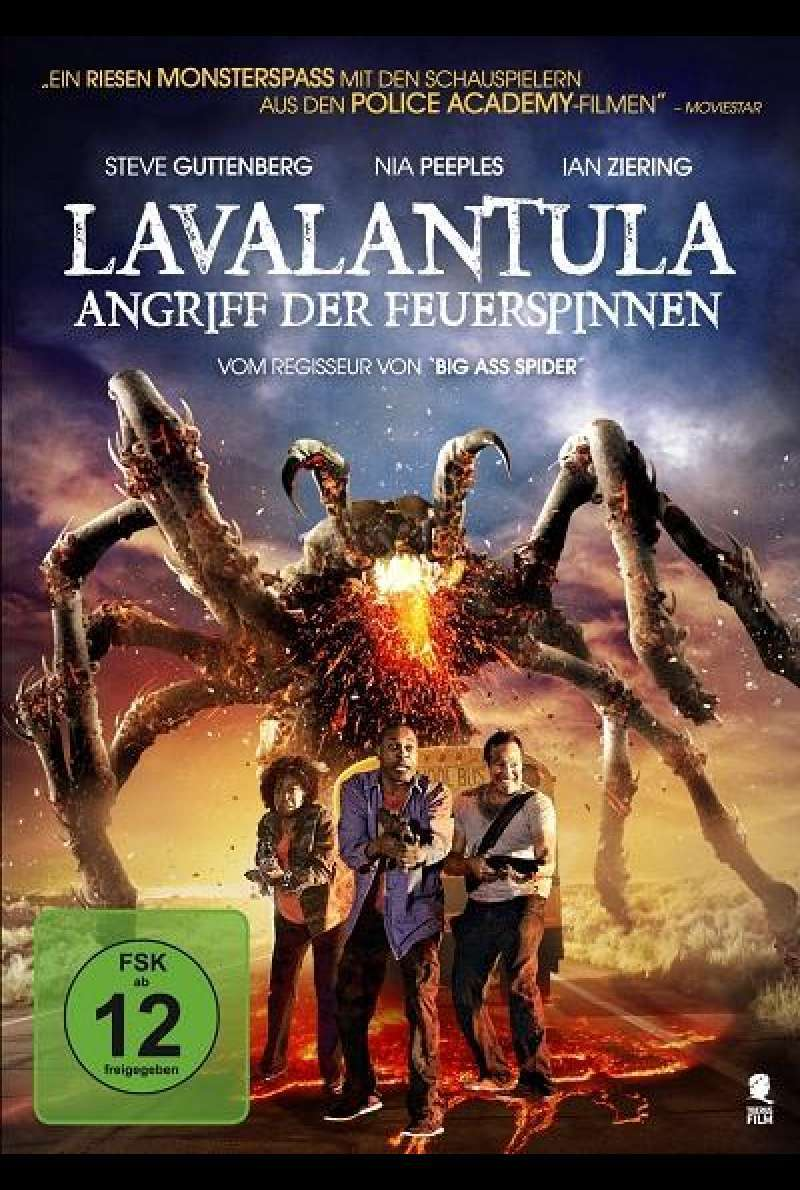 Lavalantula - Angriff der Feuerspinnen - DVD-Cover