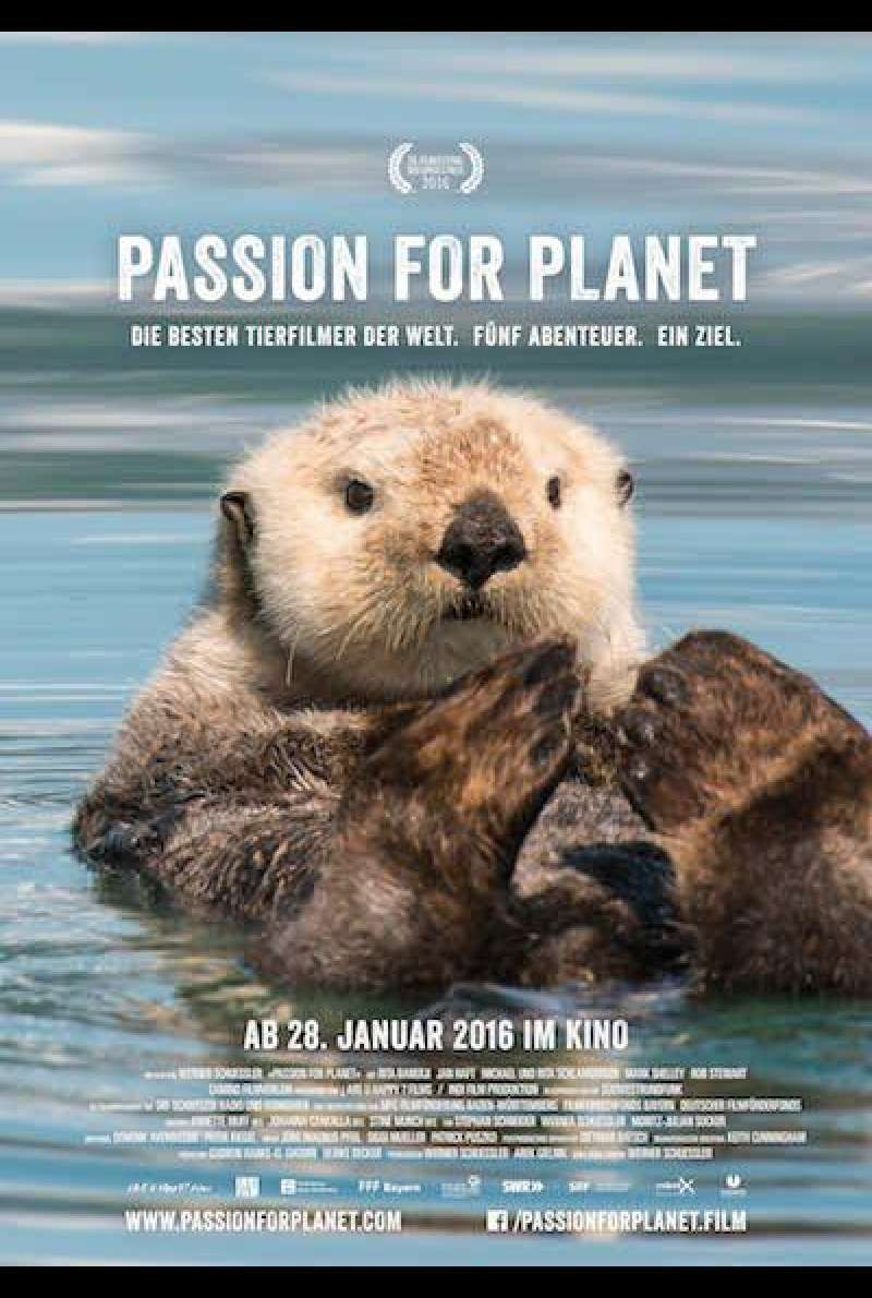Passion for Planet von Werner Schuessler - Filmplakat