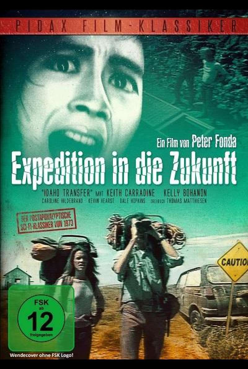 Expedition in die Zukunft - DVD-Cover