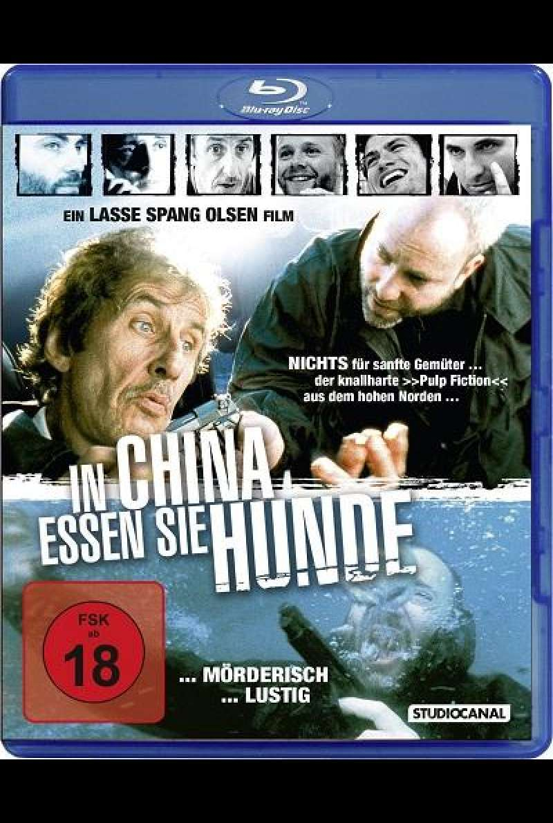 In China essen sie Hunde - Blu-ray-Cover