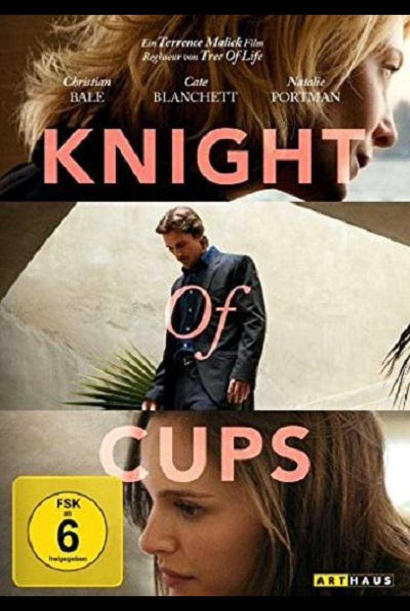 Knight of Cups - DVD-Cover