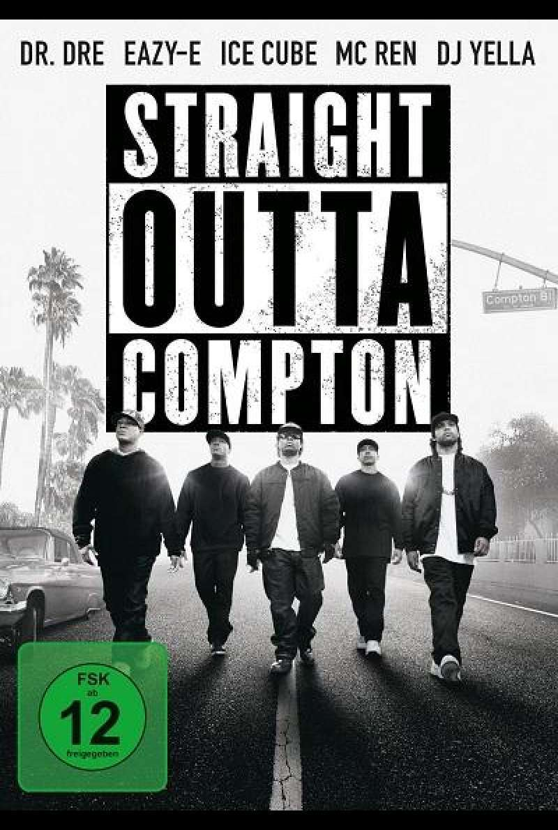 Straight Outta Compton - DVD-Cover