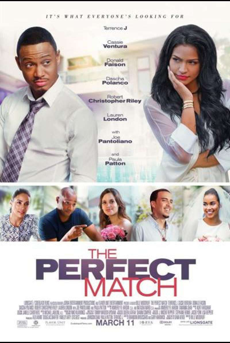 The Perfect Match - Filmplakat (US)