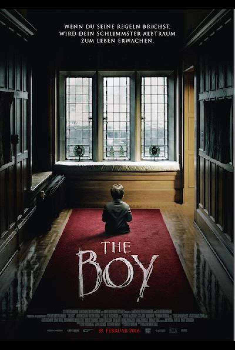 The Boy (2016) von William Brent Bell - Filmplakat