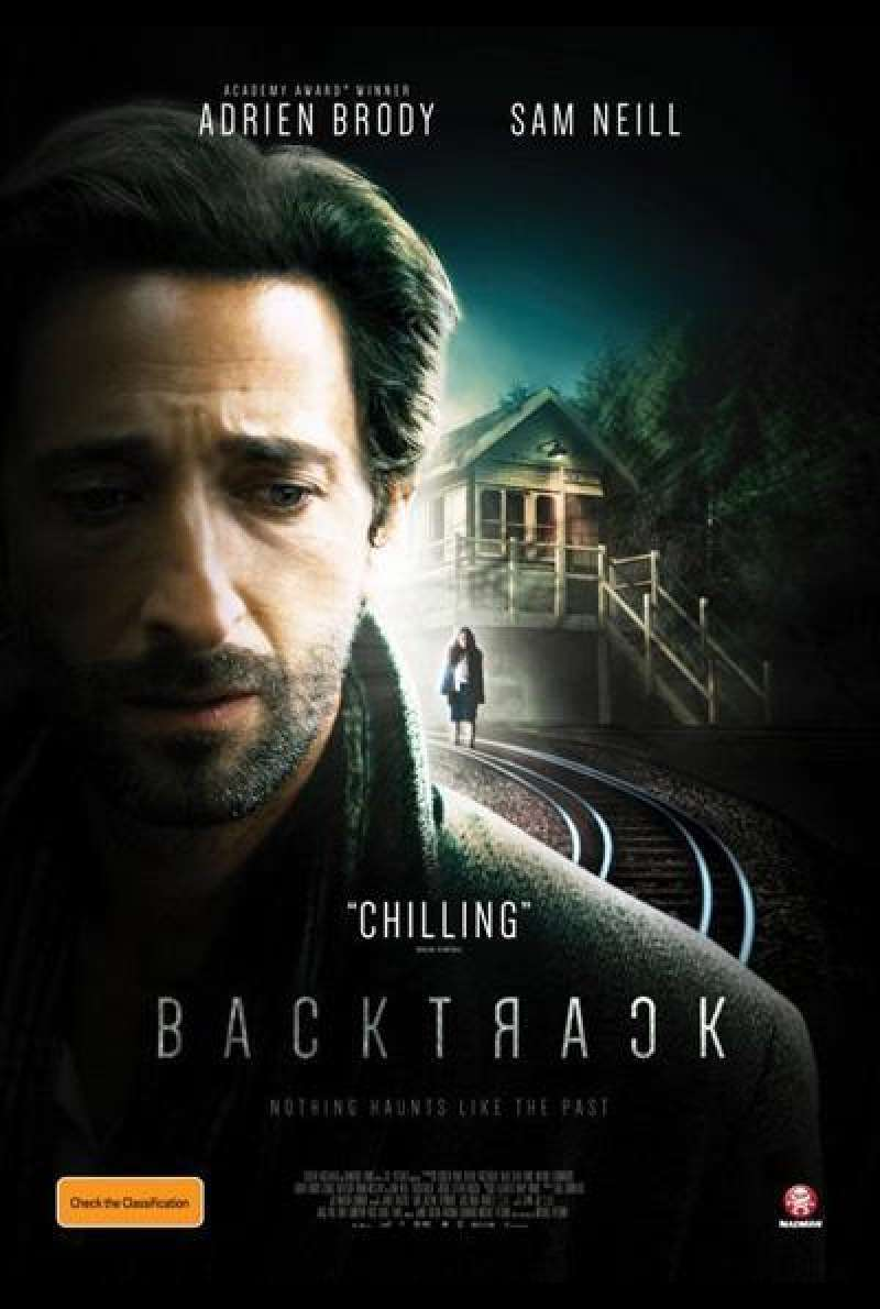 Backtrack - Filmplakat (AU)