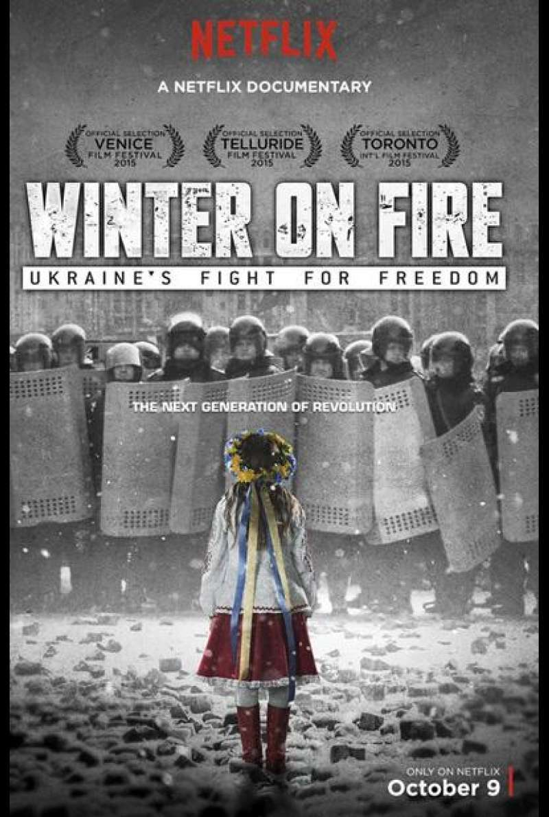 Winter on Fire: Ukraine's Fight for Freedom - Filmplakat (US)