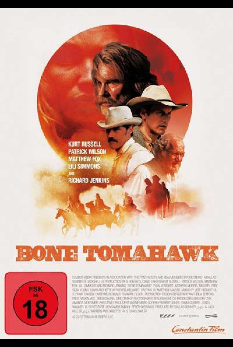 Bone Tomahawk - DVD Cover