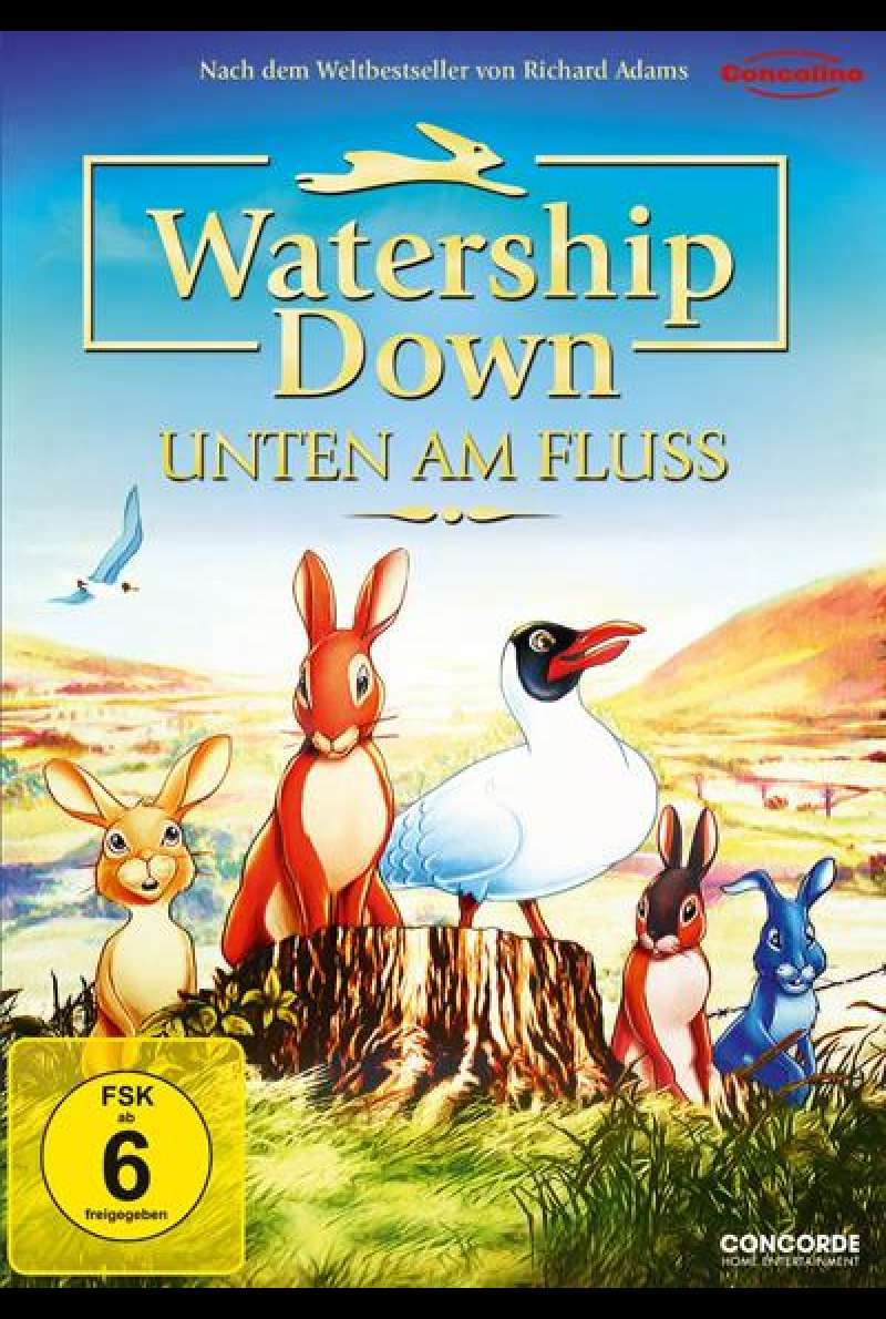 Watership Down - Unten Am Fluss - DVD Cover