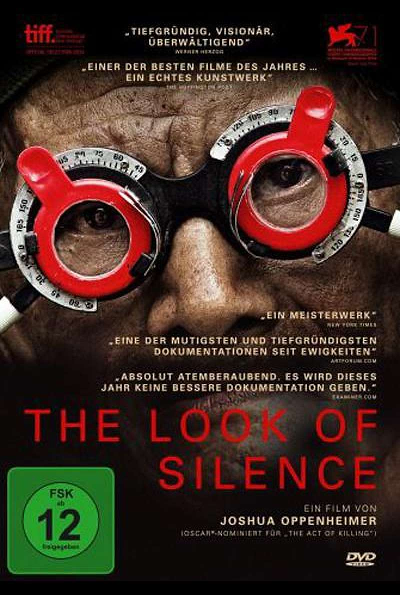 The Look of Silence - DVD Cover