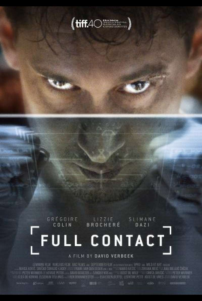 Full Contact von David Verbeek - Filmplakat (INT)
