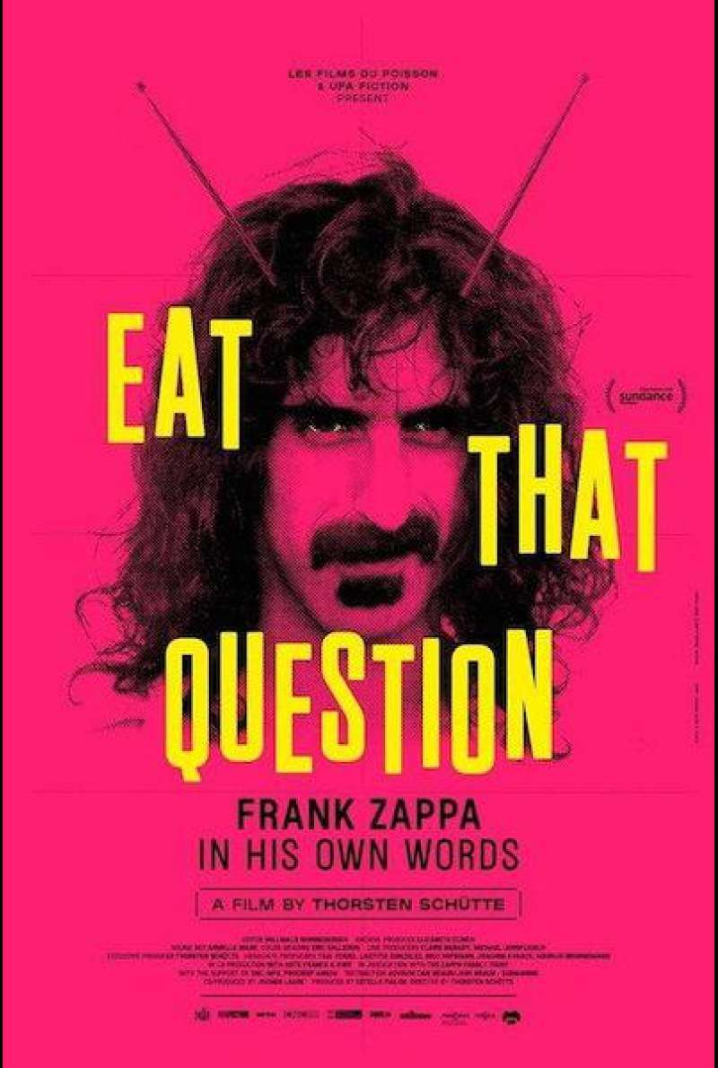 Eat That Question - Frank Zappa in His Own Words von Thorsten Schütte