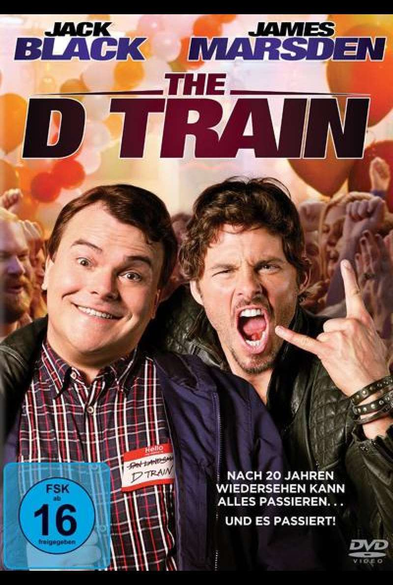 The D Train - DVD Cover