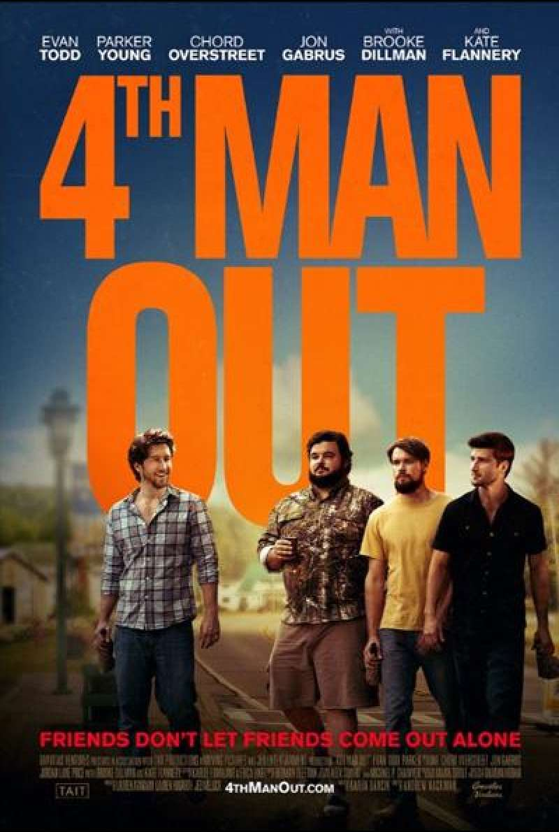 4th Man Out - Filmplakat (US)