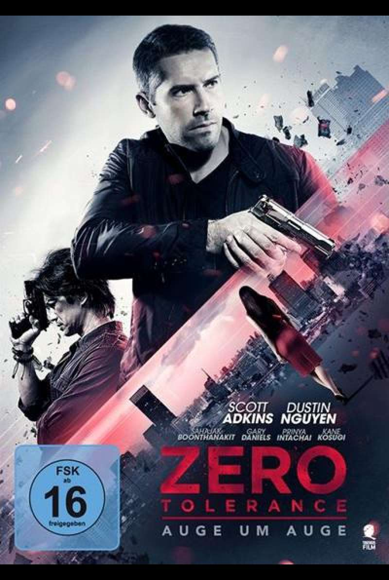 Zero Tolerance - Auge um Auge - DVD Cover