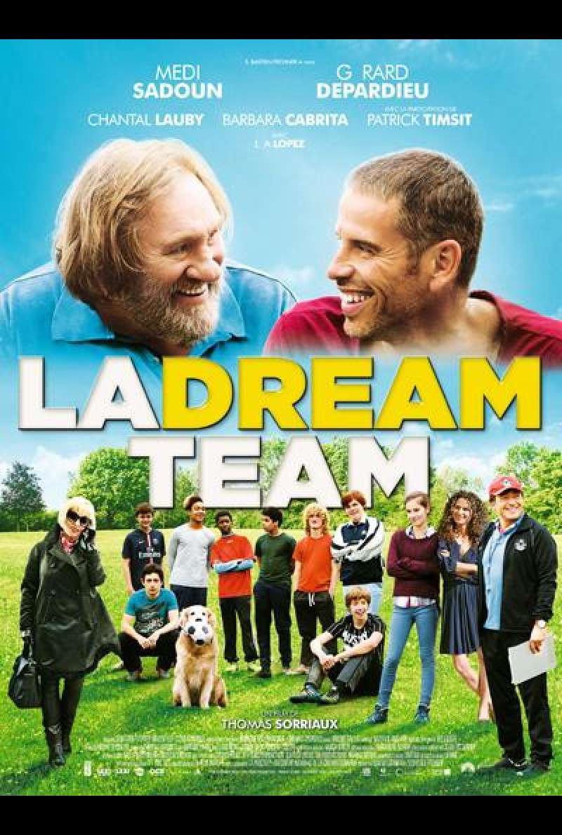 La Dream Team - Filmplakat (FR)