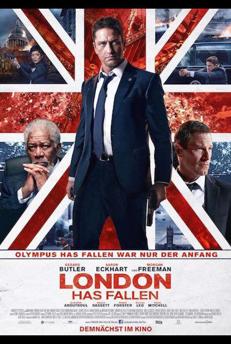 London Has Fallen von Babak Najafi - Filmplakat