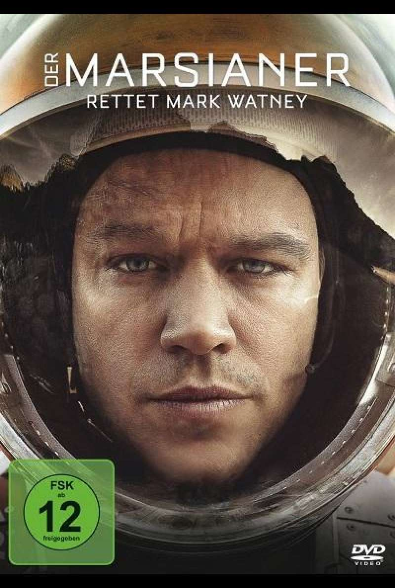Der Marsianer - Rettet Mark Watney - DVD-Cover