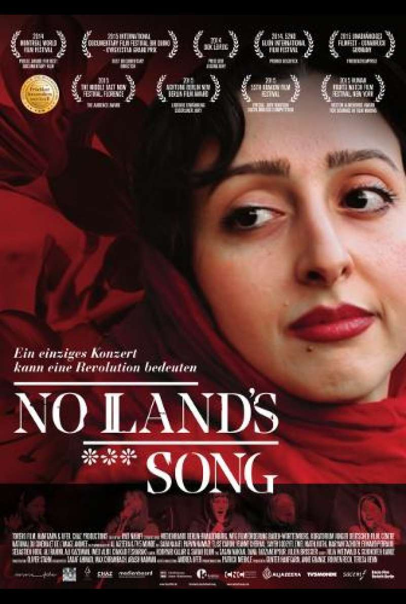 No Land's Song von Ayat Najafi - Filmplakat
