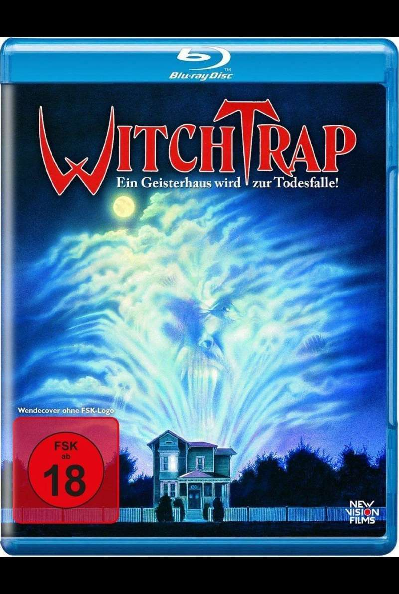 Witchtrap - Blu-ray-Cover