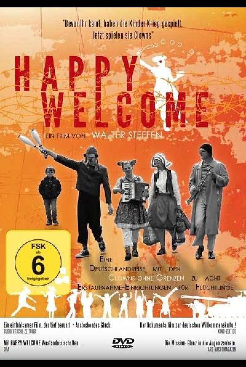 Happy Welcome - DVD-Cover