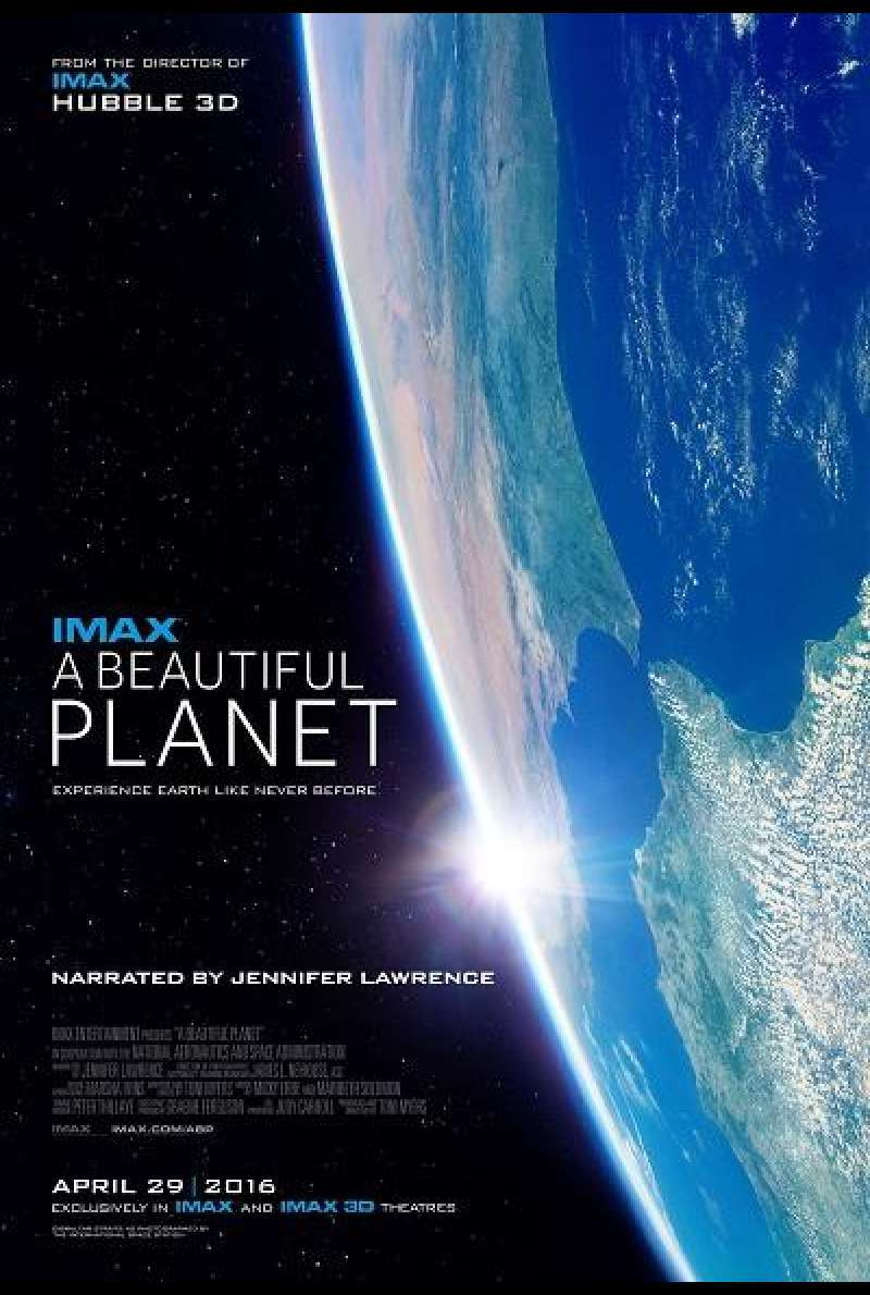 A Beautiful Planet - Filmplakat (US)