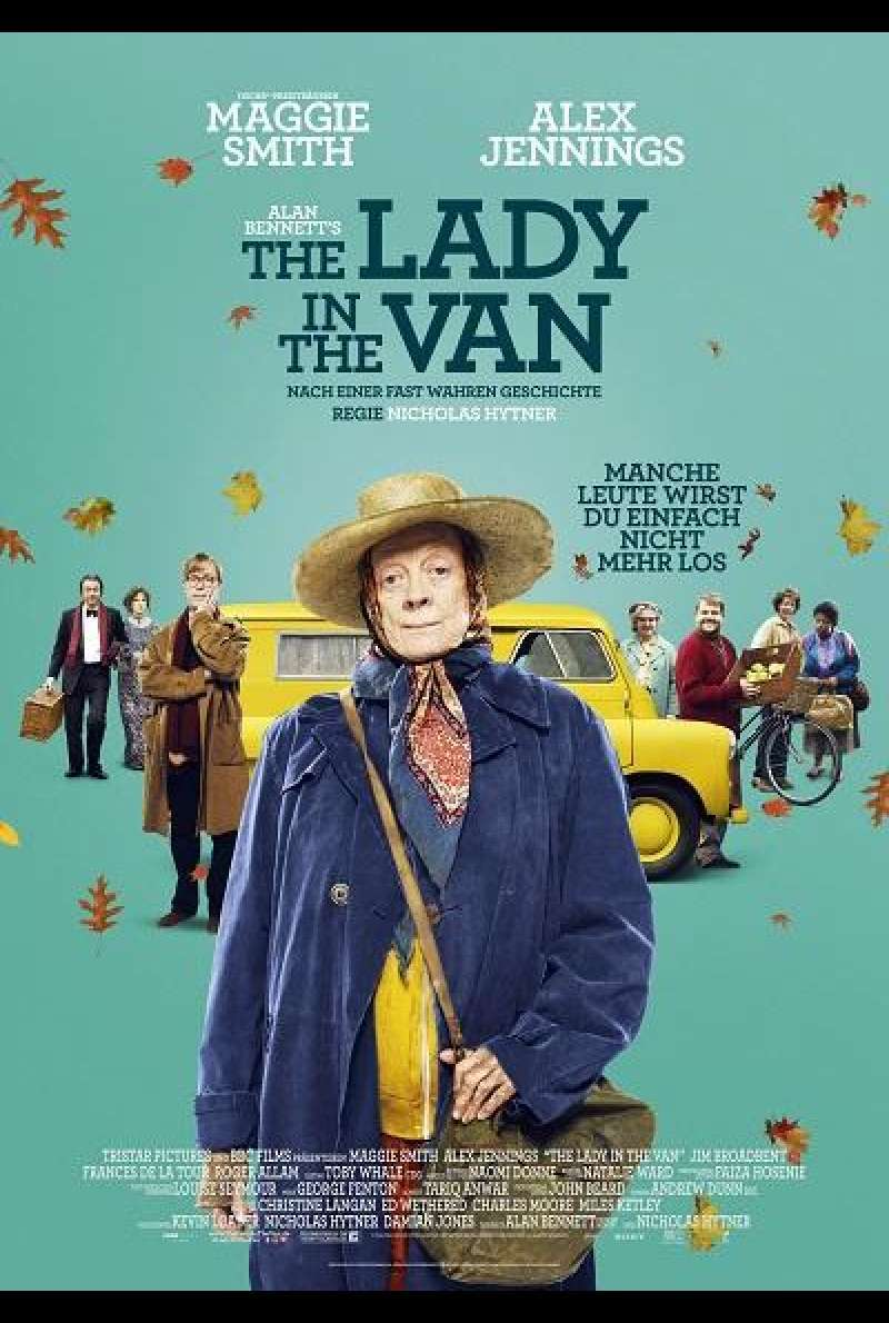 The Lady in the Van - Filmplakat