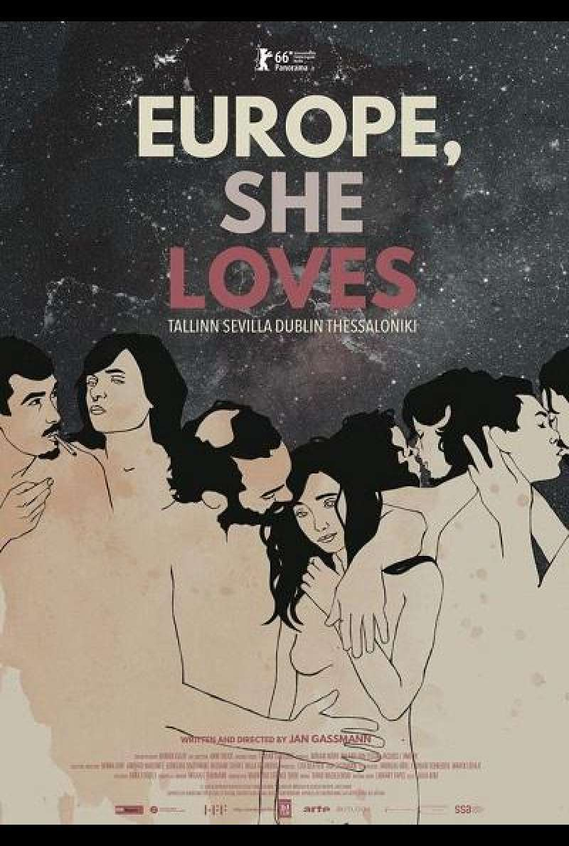 Europe, She Loves - Filmplakat (INT)