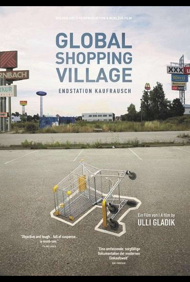Global Shopping Village: Endstation Kaufrausch - DVD-Cover