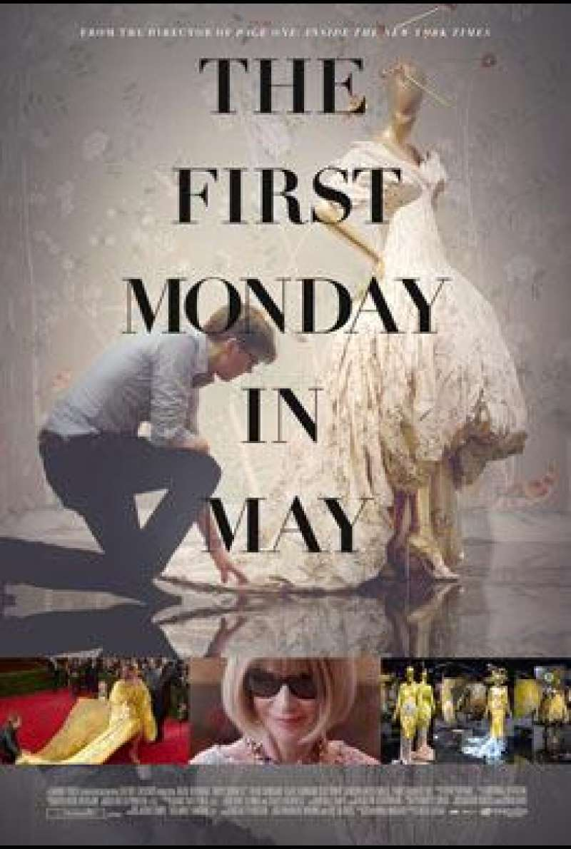The First Monday in May von Andrew Rossi - Filmplakat (US)