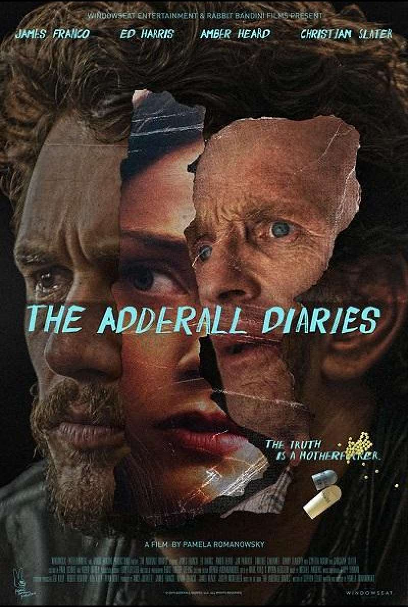 The Adderall Diaries - Filmplakat (US)