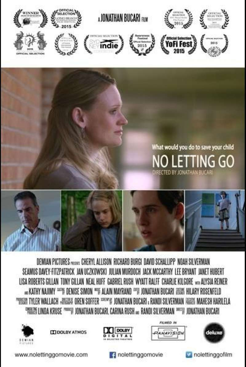 No Letting Go - Filmplakat (US)