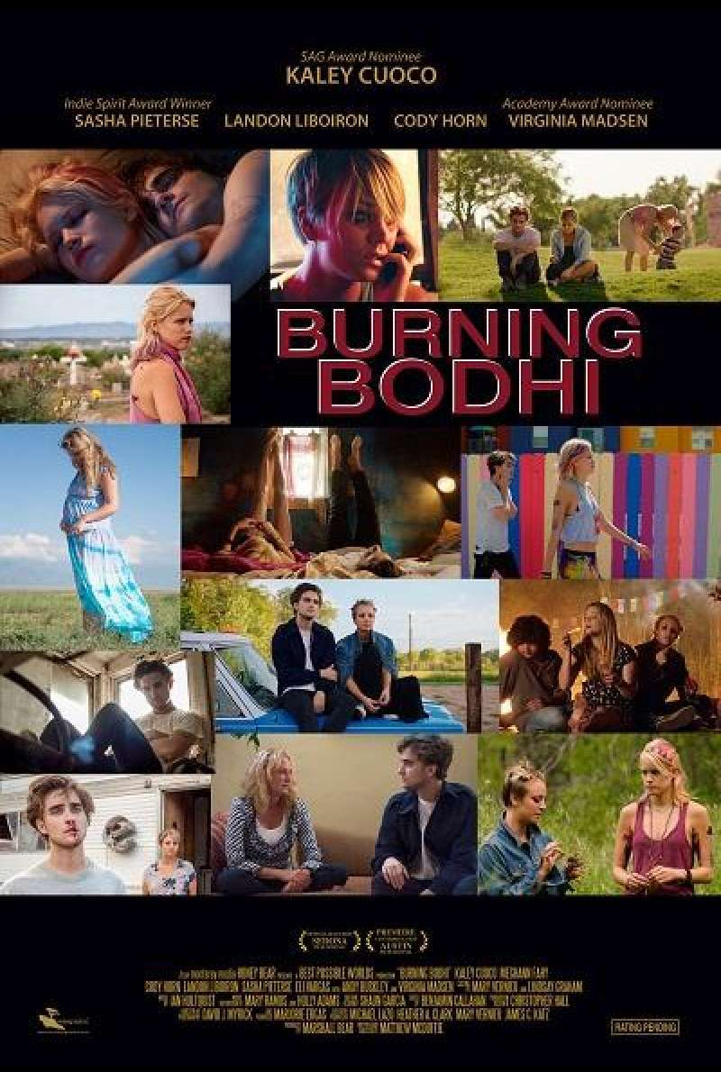 Burning Bodhi - Filmplakat (US)
