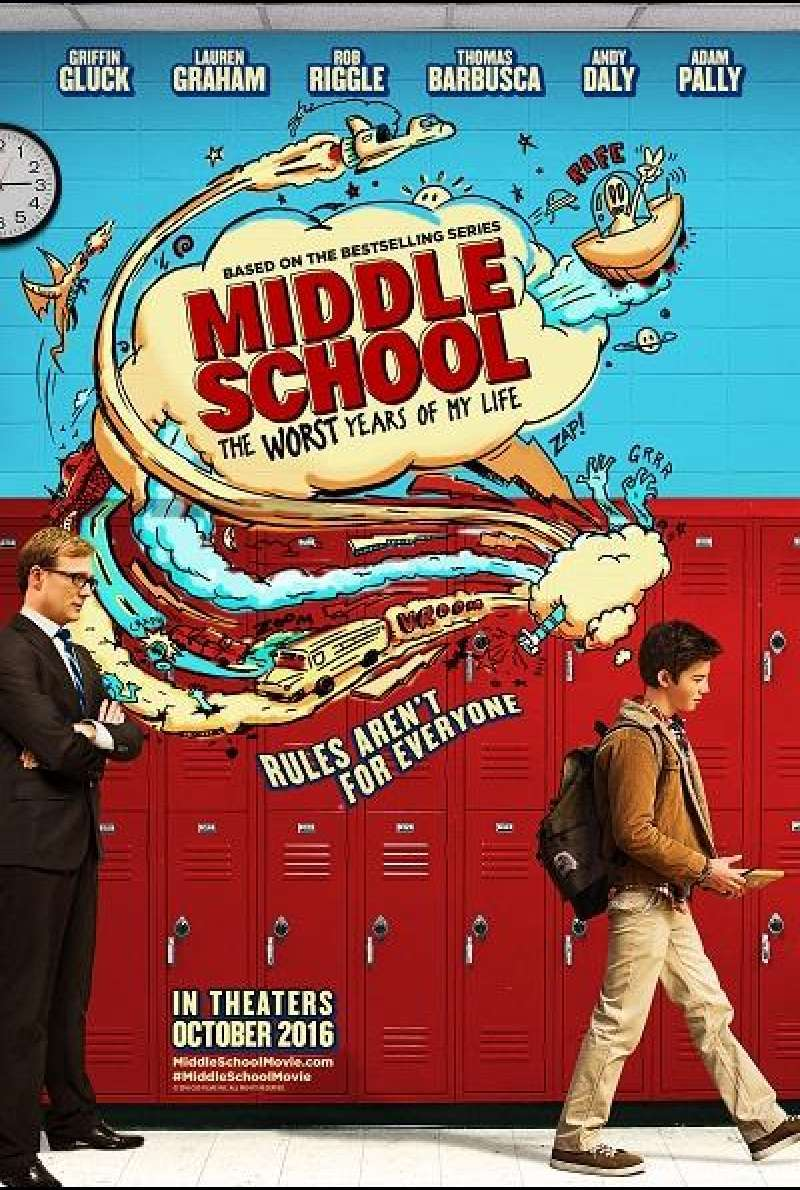 Middle School - Filmplakat (US)
