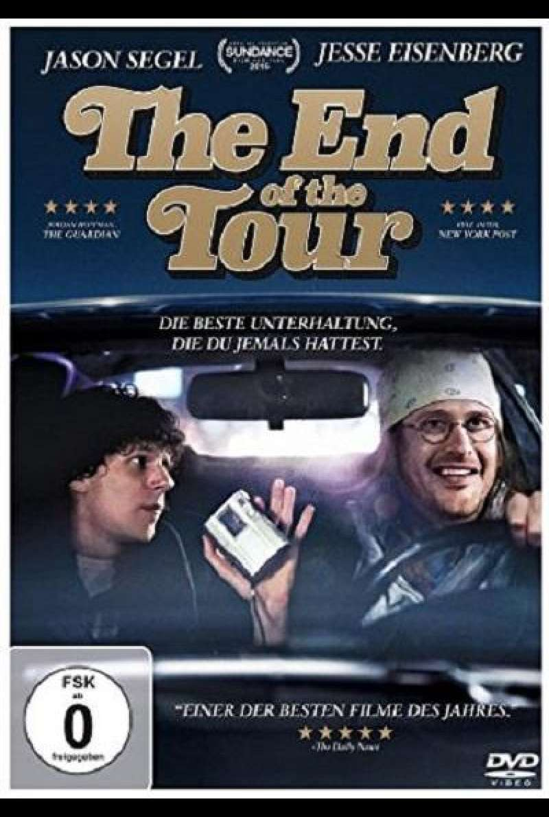 The End of the Tour - DVD-Cover