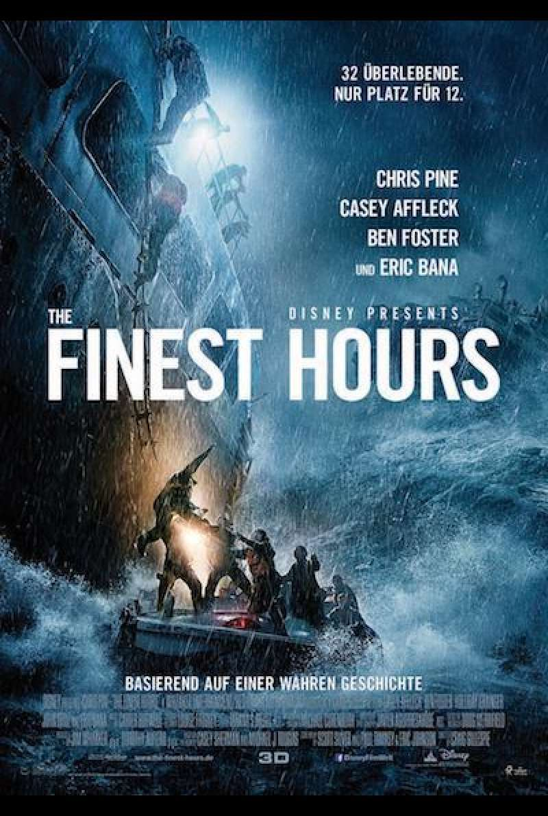 The Finest Hours von Craig Gillespie - Filmplakat