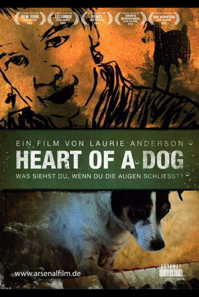 Heart of a Dog von Laurie Anderson - Filmplakat