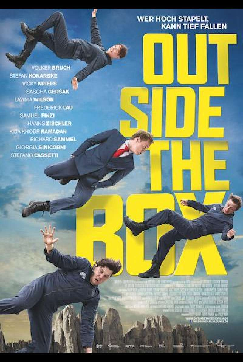 Outside the Box von Philip Koch - Filmplakat