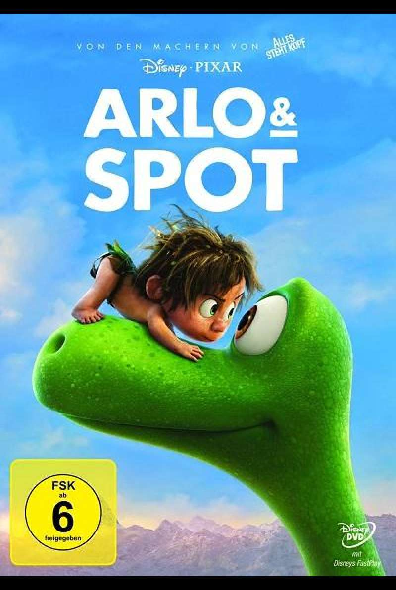 Arlo & Spot - DVD-Cover