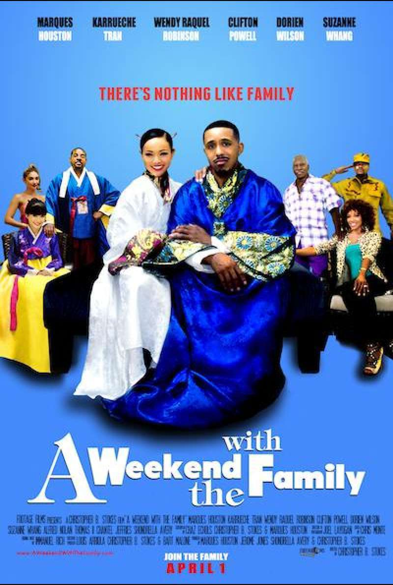 A Weekend with the Family von Chris Stokes - Filmplakat (US)