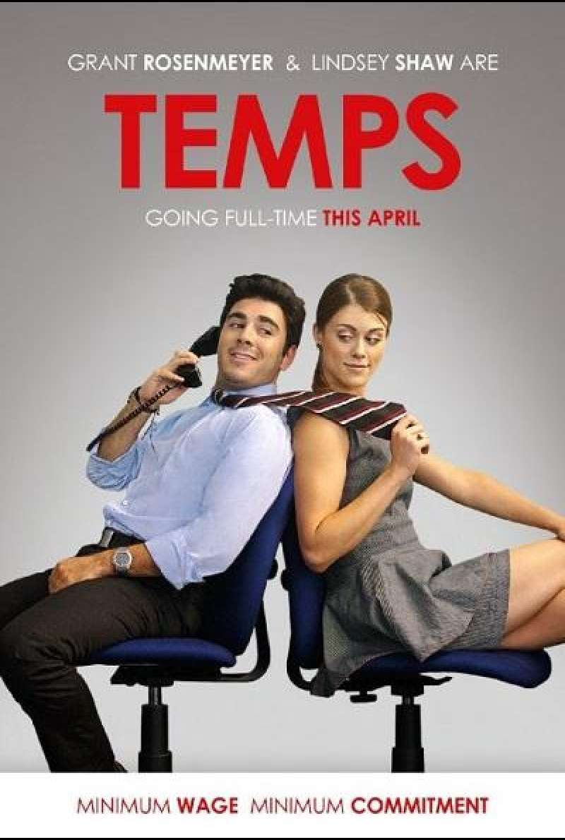 Temps - Filmplakat (US)