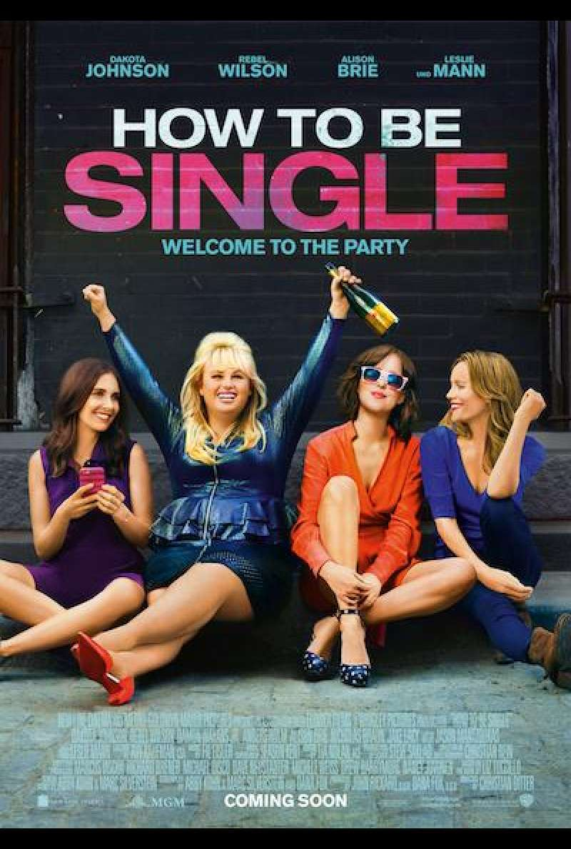 How to Be Single von Christian Ditter - Filmplakat
