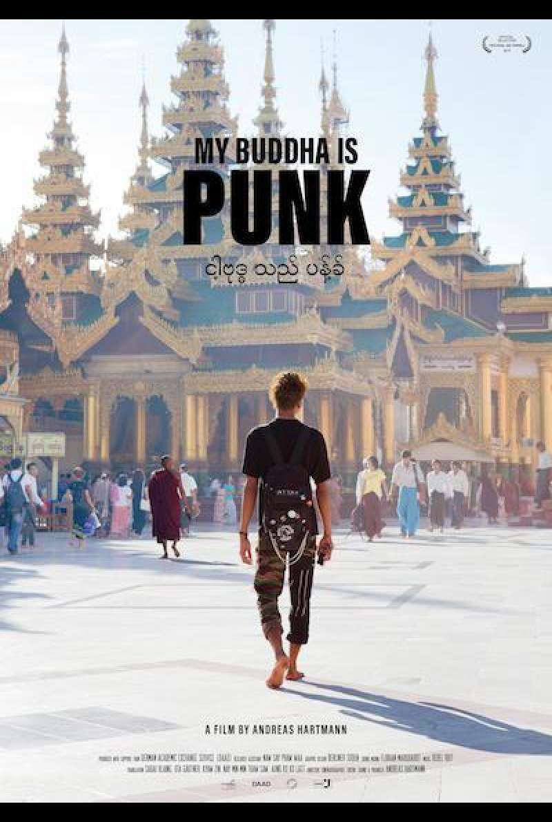 My Buddha Is Punk von Andreas Hartmann - Filmplakat (INT)