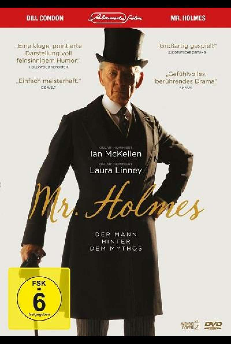 Mr. Holmes - DVD-Cover