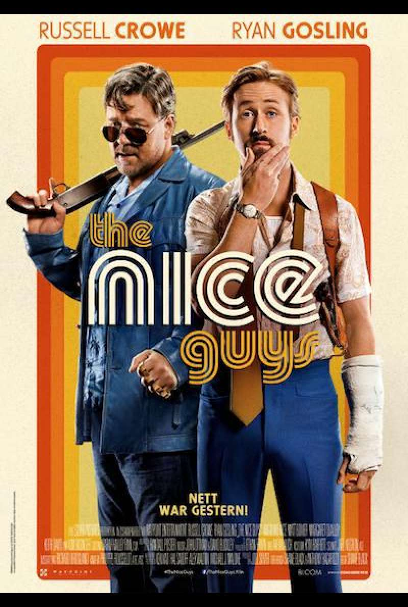The Nice Guys - Filmplakat