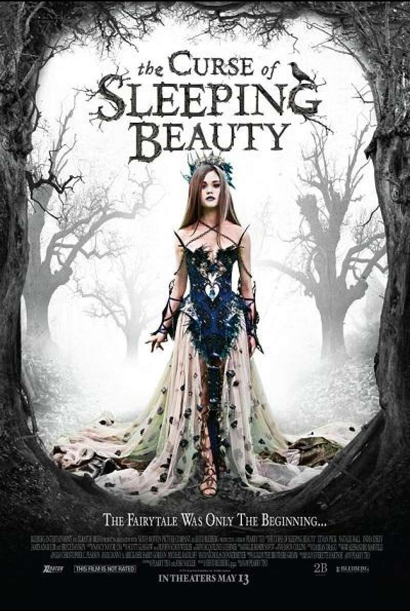 The Curse of Sleeping Beauty - Filmplakat (US)