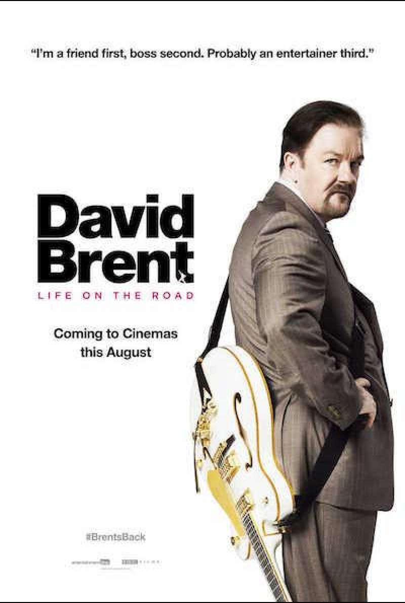 David Brent: Life on the Road von Ricky Gervais - Filmplakat (UK)