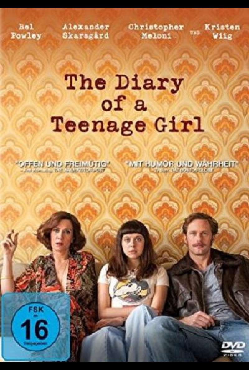 The Diary of a Teenage Girl - DVD-Cover