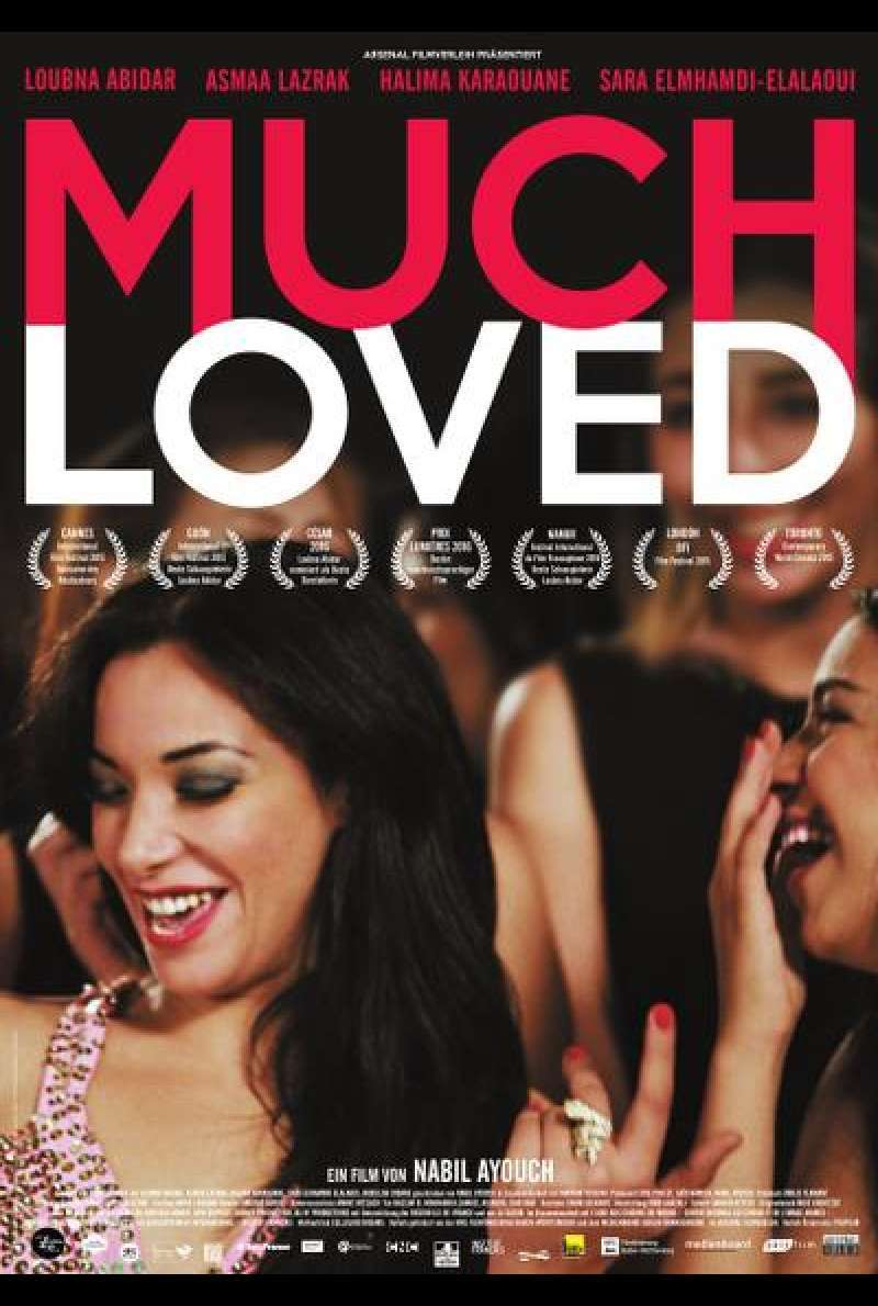 Much Loved von Nabil Ayouch - Filmplakat