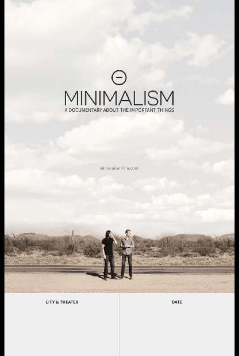 Minimalism: A Documentary About the Important Things - Filmplakat (US)