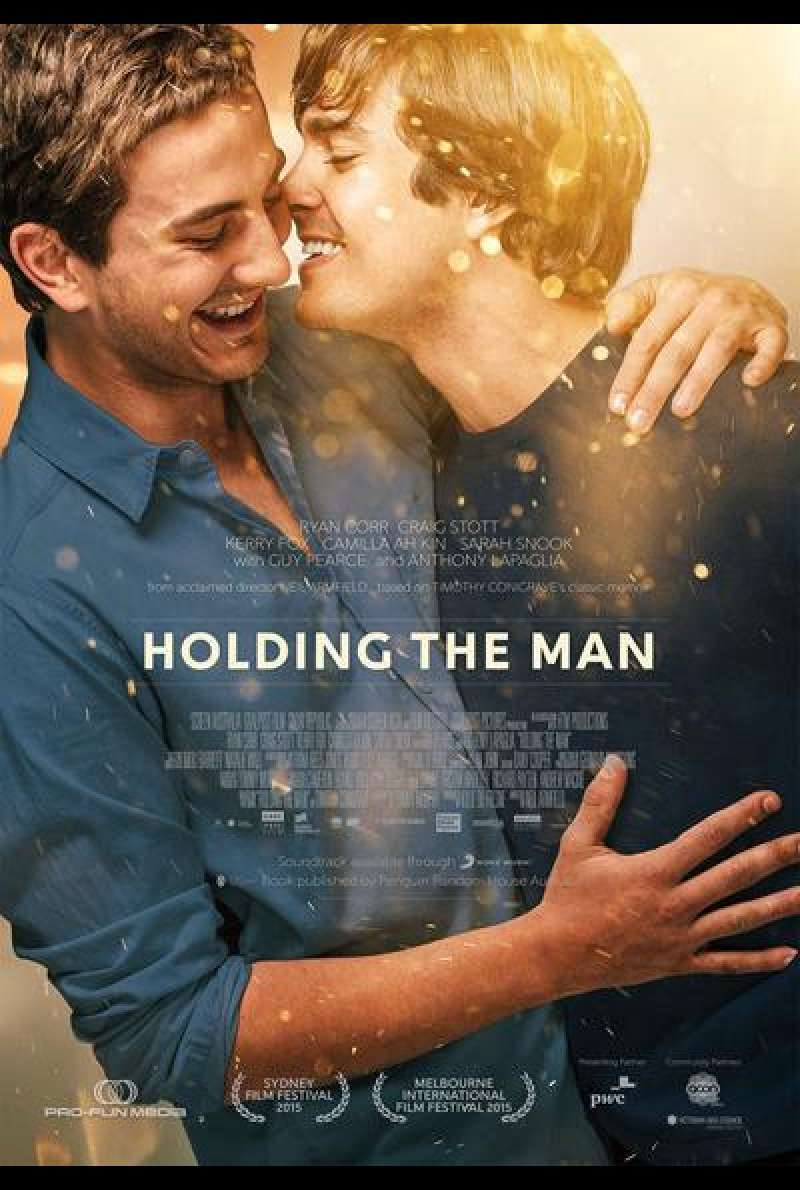 Holding the Man von Neil Armfield - Filmplakat (AUS)